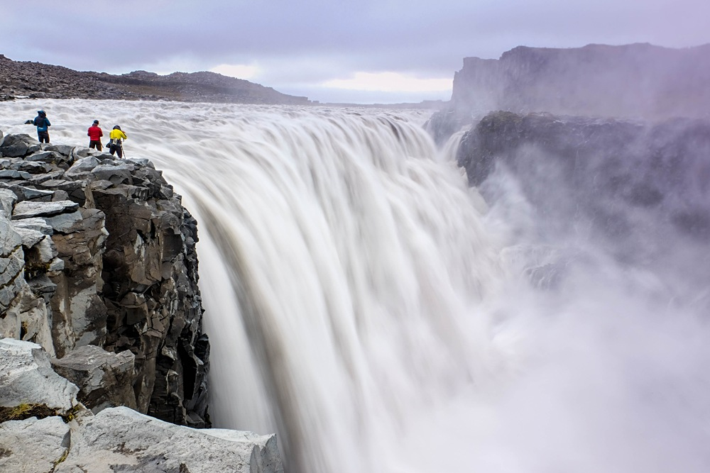 Dettifoss Falls in Iceland