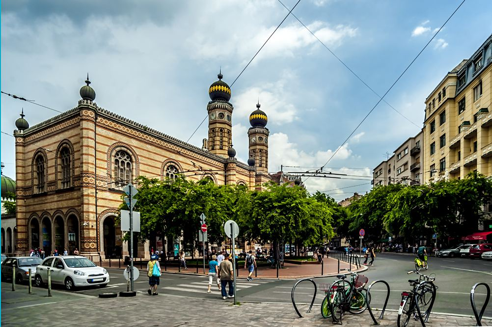Great Synagogue on Dohany Street in the Jewish Quarter, Budapest, Hungary