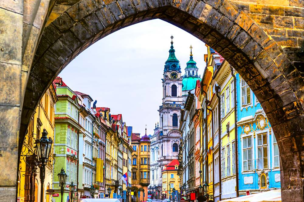 Mala Strana. Prague, Czech Republic