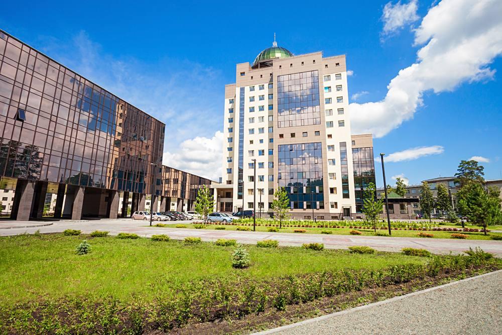 Novosibirsk State University in Akademgorodok Complex, Siberia, Russia