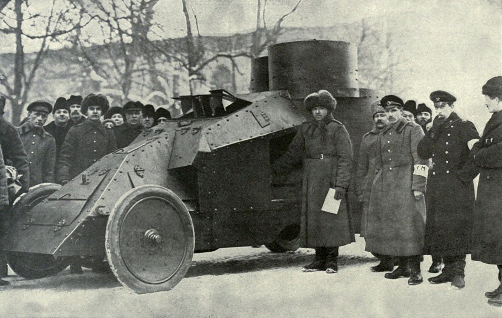 Petrograd City Militia (volunteer police force) replaced the Czarist police during Russian Revolution, 1917, Russia