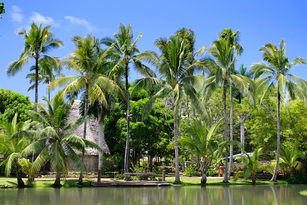 Polynesian Cultural Center, Honolulu, Oahu, Hawaii, USA