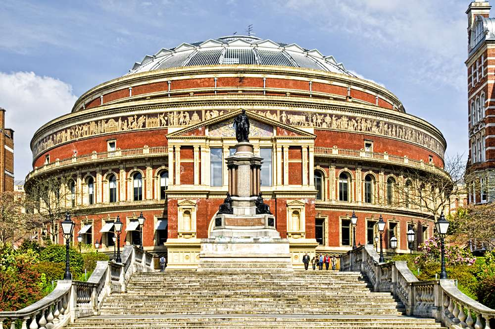 Royal Albert Hall in London, UK (United Kingdom)