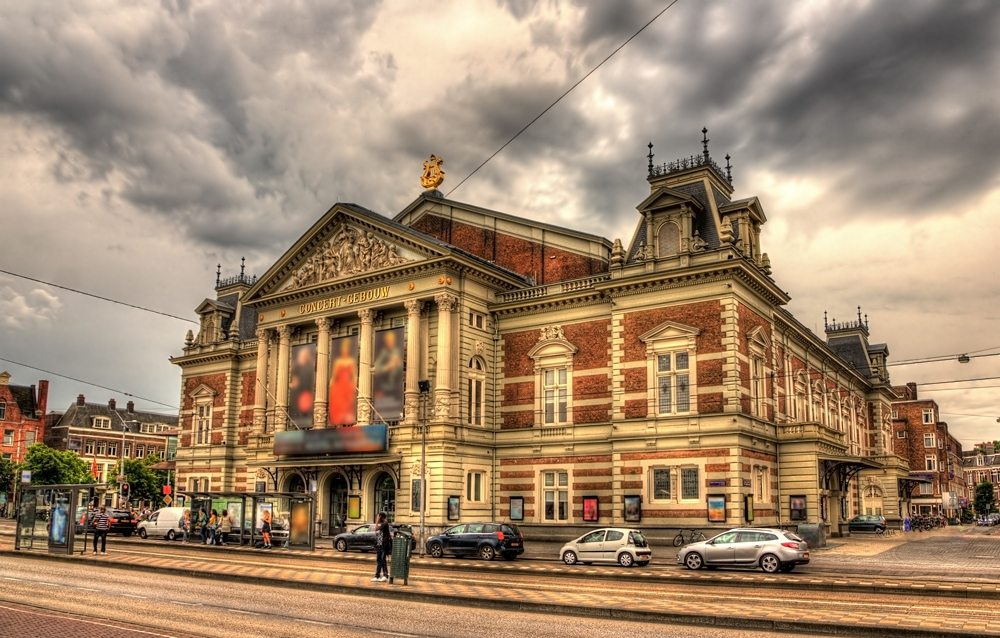 Royal Concertgebouw in Amsterdam, Netherlands