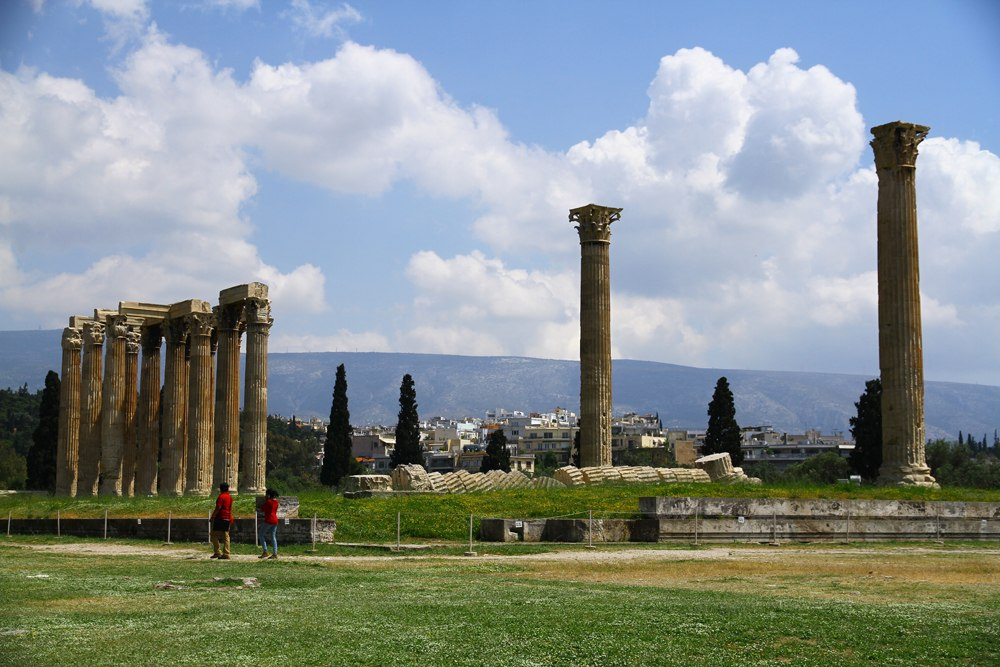 Temple of Olympian Zeus, Athens, Greece_756345790