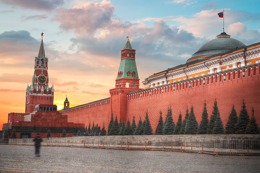 The Kremlin in Red Square - official residence of the President of the Russian Federation, Moscow, Russia