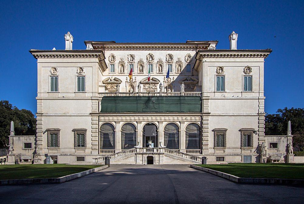 Villa Borghese (Galleria Borghese) in Rome, Italy