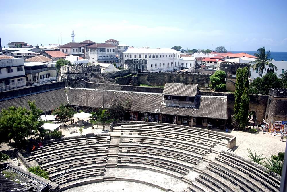 Amphitheatre in the Old Fort, Stone Town, Zanzibar, Tanzania
