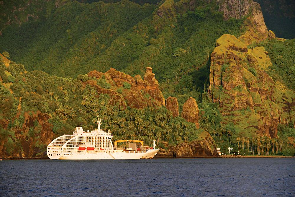 Aranui 5 Exterior, Tahiti (French Polynesia)
