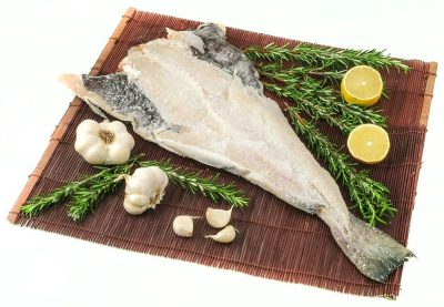 Bacalhau - Salty dry cod fish with garlic and rosemary