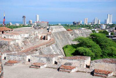 Castillo San Felipe de Barajas is a fortress in the city of Cartagena, Colombia