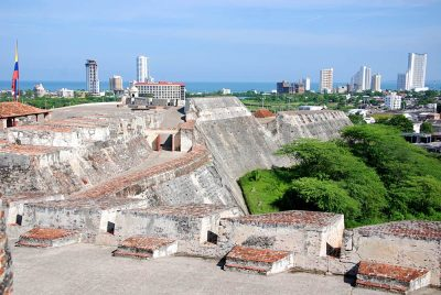 Castillo San Felipe de Barajas is a fortress in the city of Cartagena, Colombia