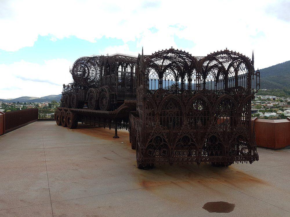 Christian Baines - Display at MONA, Hobart, Tasmania, Australia