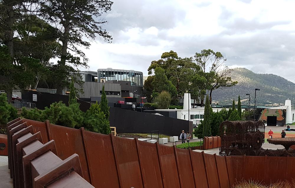 Christian Baines - MONA Exterior, Hobart, Tasmania, Australia - CROPPED