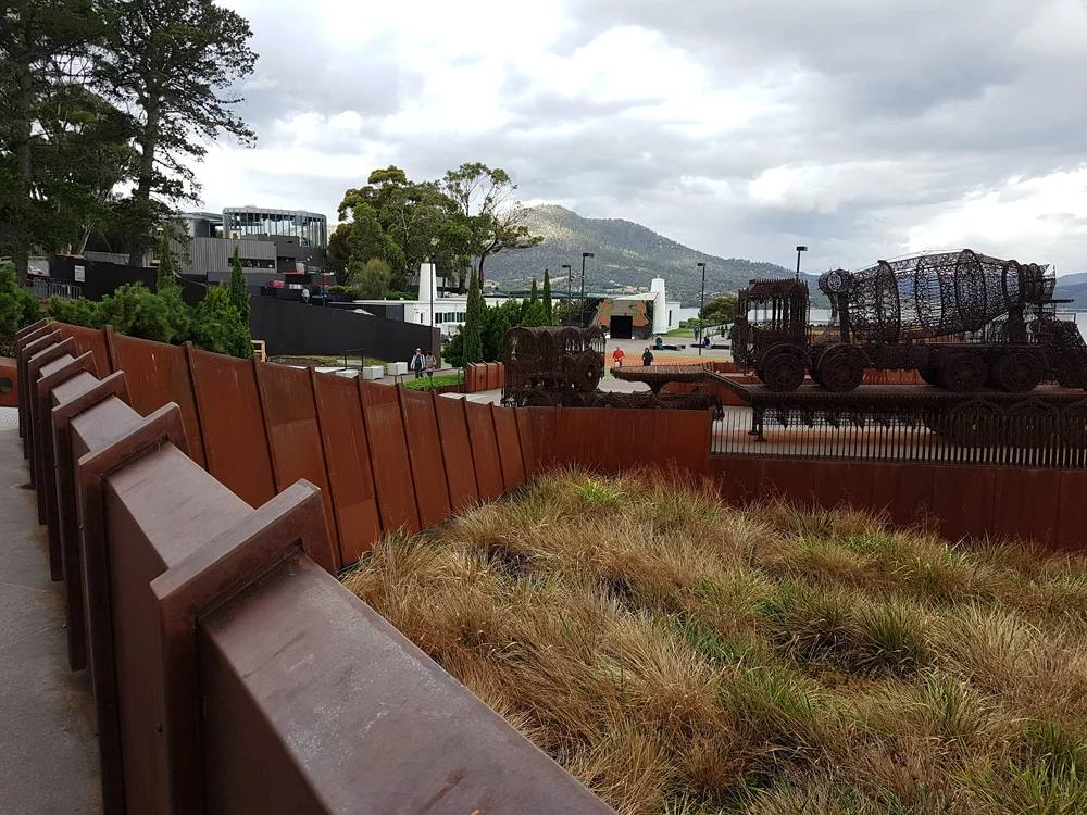 Christian Baines - MONA Exterior, Hobart, Tasmania, Australia