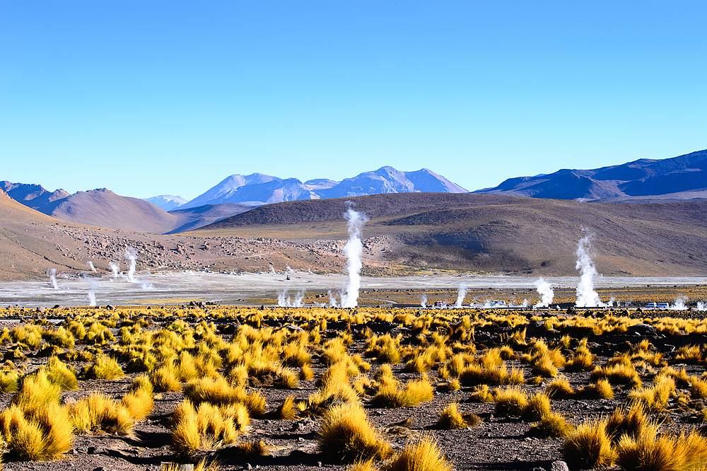 Geysers of the Atacama Desert, Chile