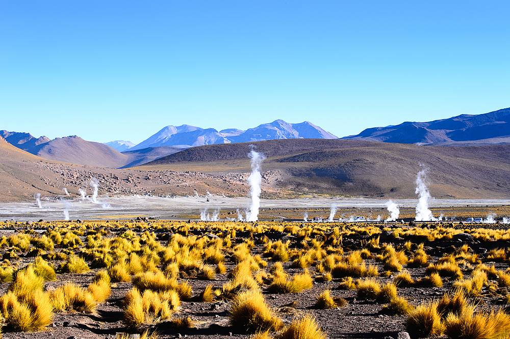 Geysers of the Atacama Desert, Chile