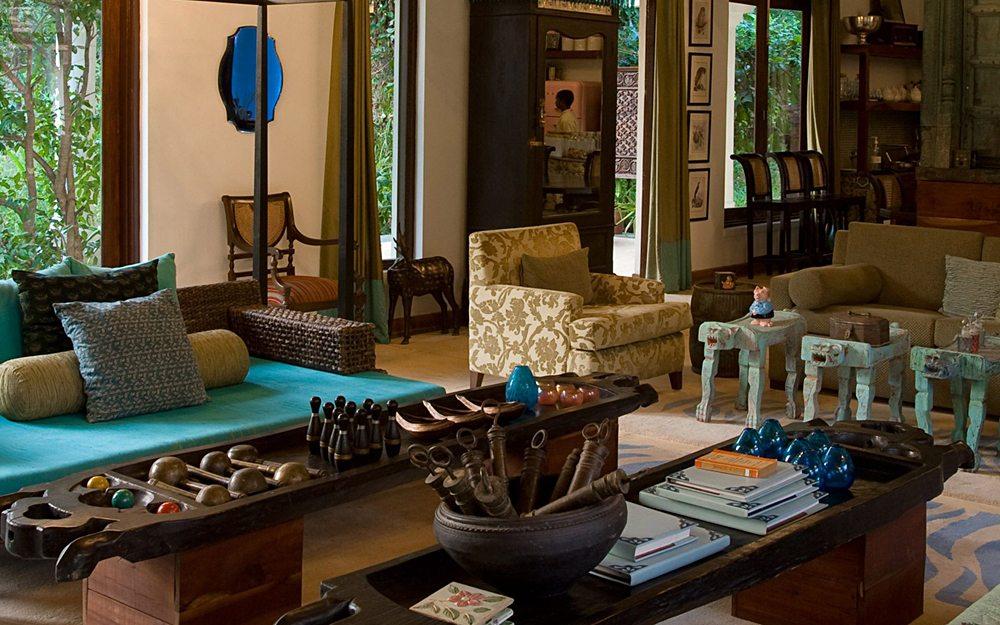 Pashan Garh Lodge - Lounge, Panna National Park, India