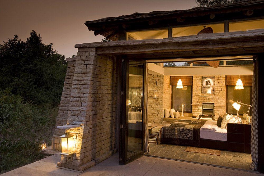 Pashan Garh Lodge - Luxury Stone Cottage, Panna National Park, India