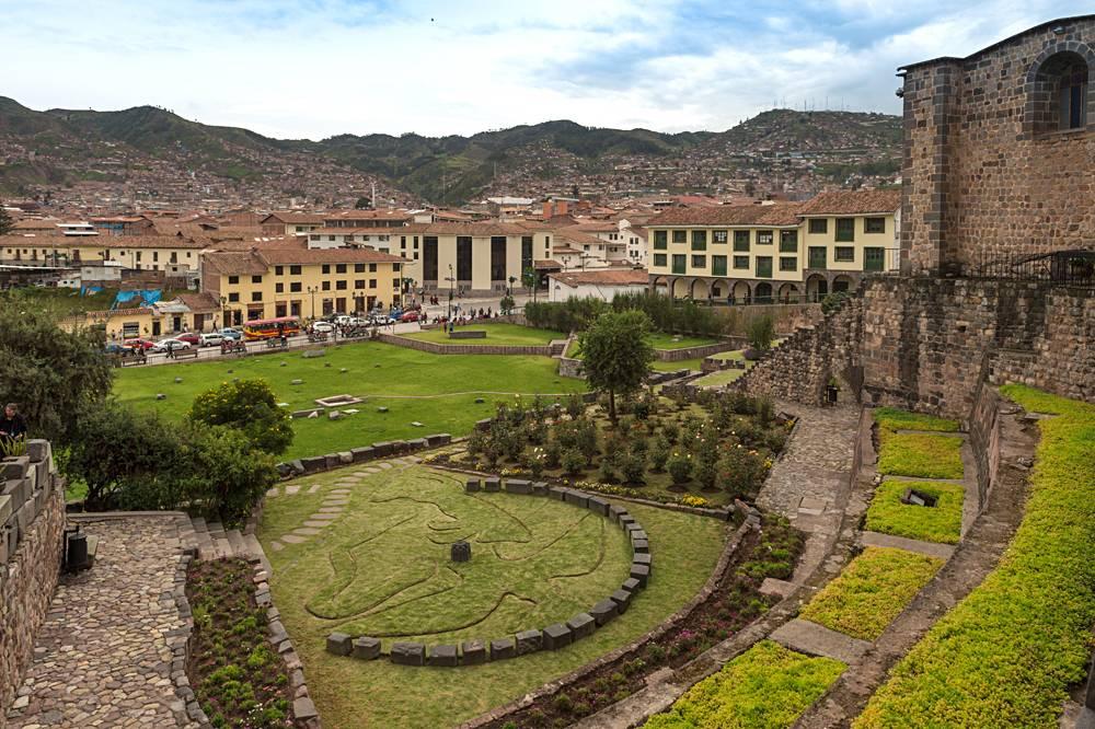 Qorikancha Temple (Inca Ruins), Cusco, Peru