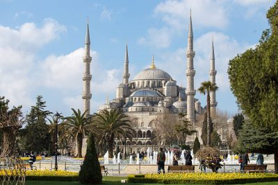Sultan Ahmed Mosque (Blue Mosque) in Istanbul, Turkey