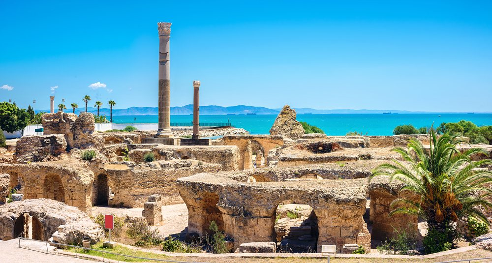 Ancient Carthage, Tunis, Tunisia