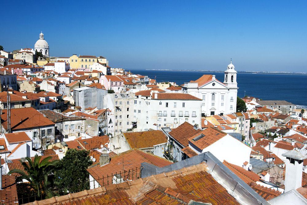 Bairro Alto District, Lisbon, Portugal
