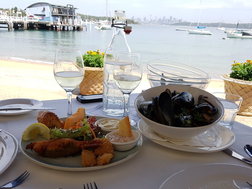 Christian Baines - Entree at Doyle's on the Beach, Sydney, Australia