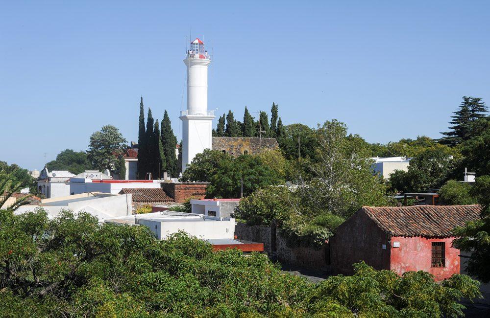 El Faro Lighthouse in Colonia del Sacramento, Uruguay