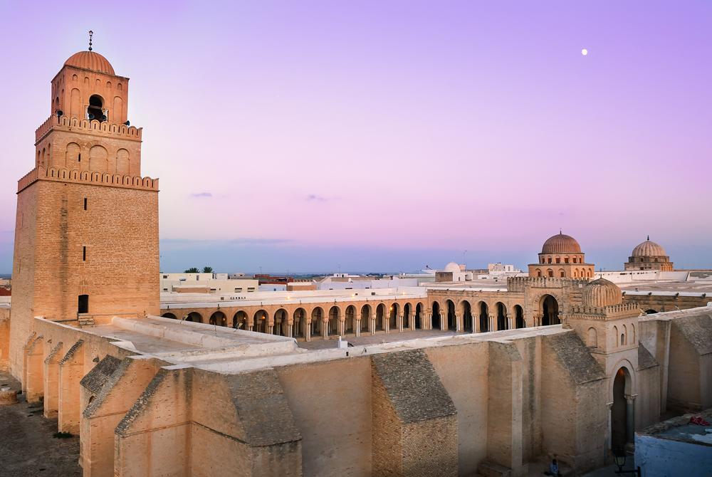 Great Mosque of Sidi-Uqba, Kairouan, Tunisia
