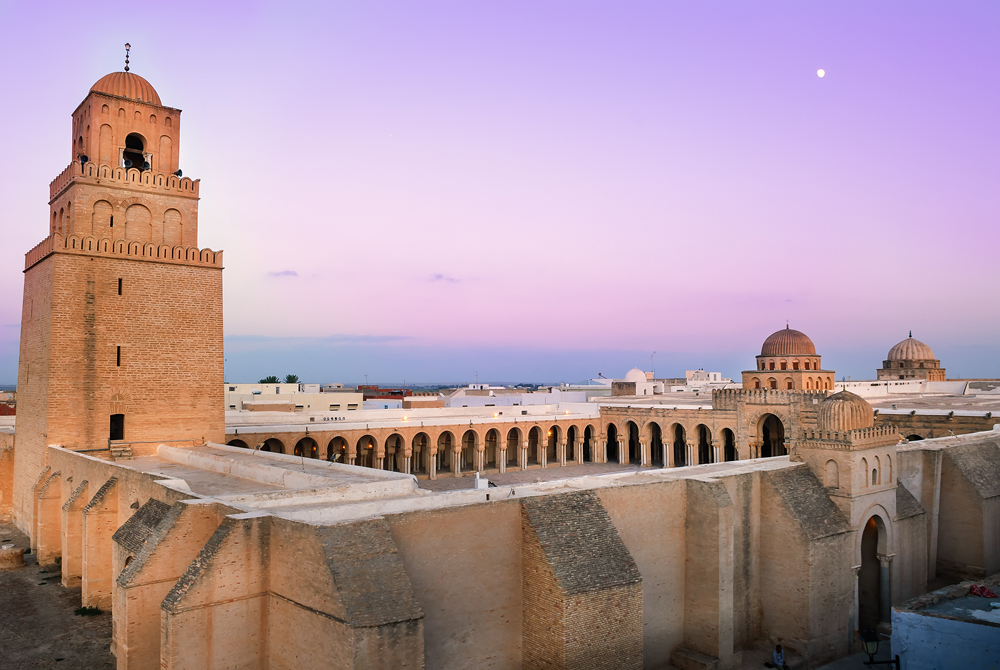 Great Mosque of Sidi-Uqba, Kairouan, Tunisia