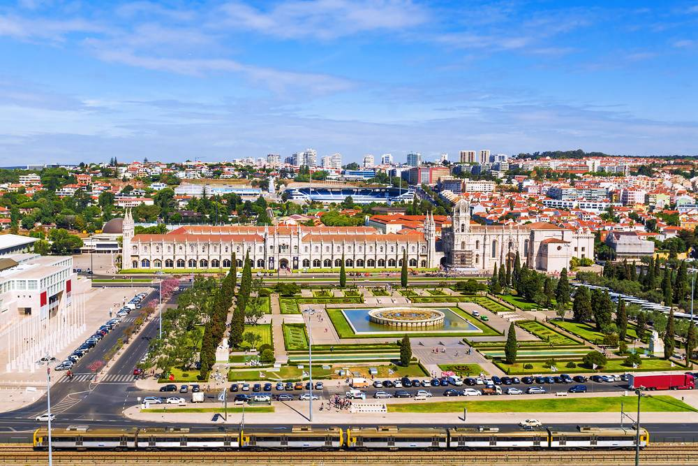 Monastery of Jeronimos in Lisbon, Portugal