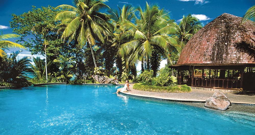 Sinalei Reef Resort & Spa pool, Upolu, Samoa