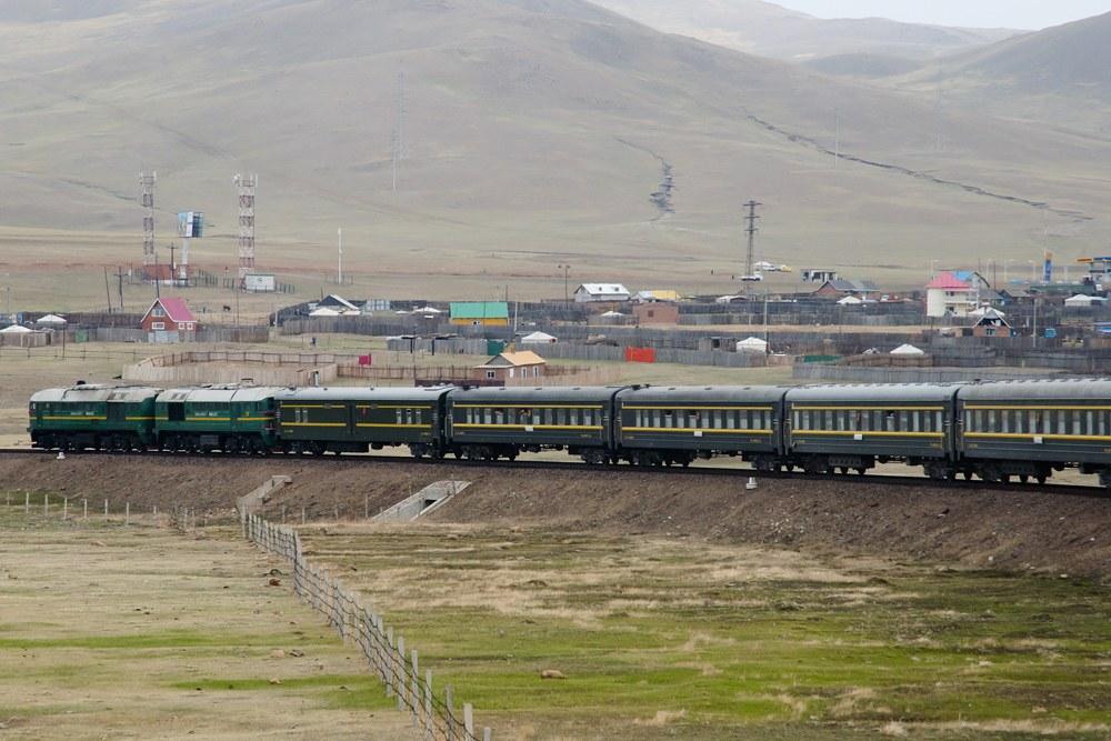 Trans Siberian Rail in Mongolia