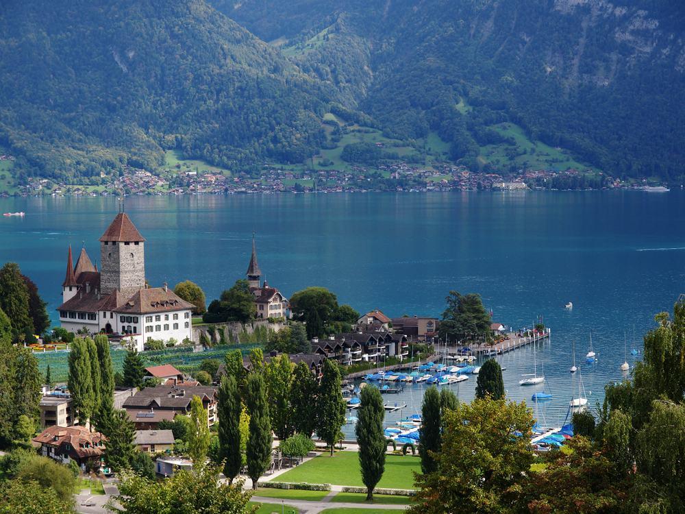 View of Bernese Overland area, Switzerland