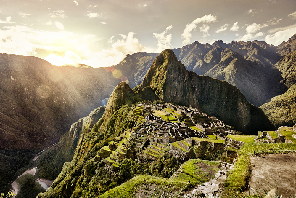 Ancient Inca City of Machu Picchu, Peru_298363703