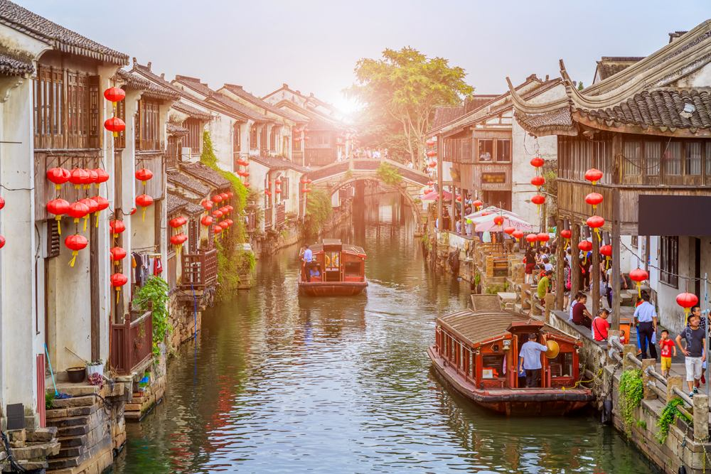 Ancient town of Suzhou, China