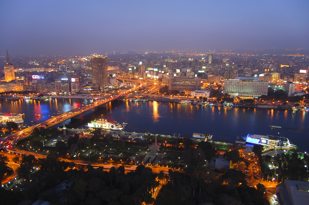 Cairo at Night, Egypt