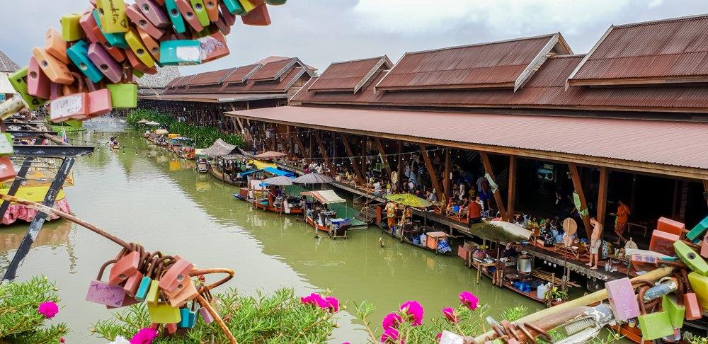 Floating Market of Ayutthaya, Thailand