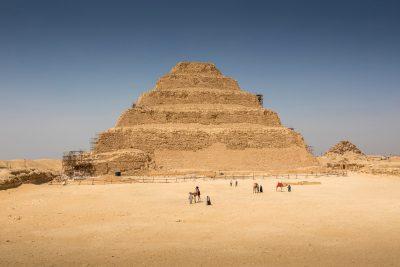 Step Pyramid of Djoser in Saqqara, Egypt