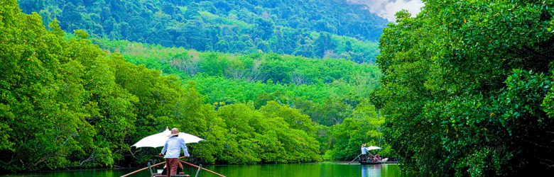 Salak Khok Bay is located in Mu Ko Chang National Marine Park, Trat, Thailand
