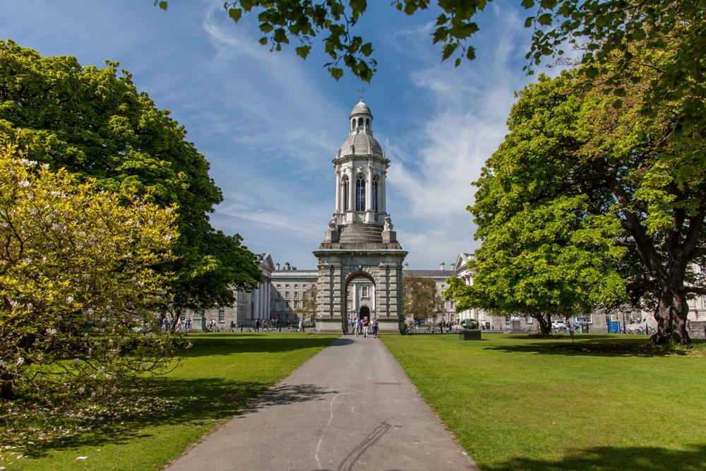 Trinity College in Dublin, Ireland