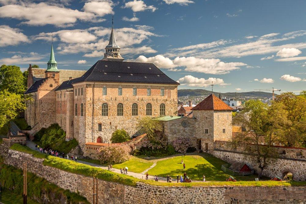 Akershus Fortress in Oslo, Norway
