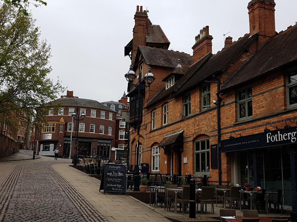 Christian Baines - Exploring the Castle District of Nottingham, England, UK (United Kingdom)