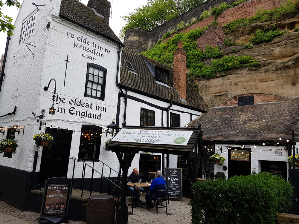 Christian Baines - Ye Olde Trip to Jerusalem pub, Nottingham, England, UK (United Kingdom)