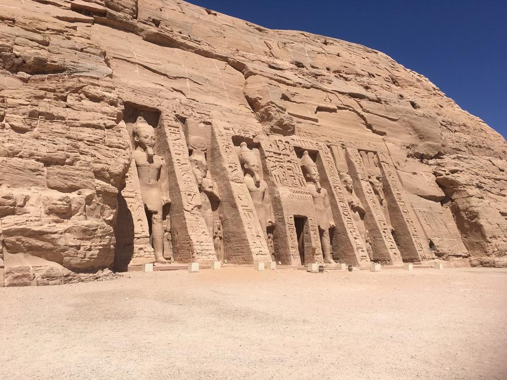 Emma Cottis - Abu Simbel, Egypt