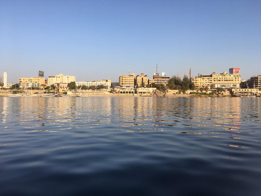 Emma Cottis - Aswan from the Nile, Egypt