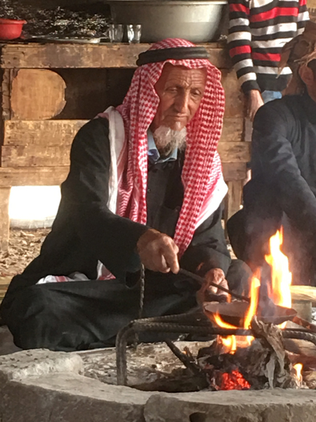 Emma Cottis - Bedouin Coffee experience in Jordan