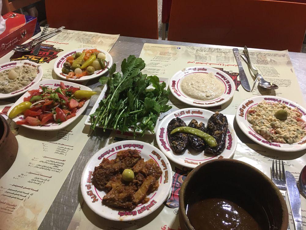 Emma Cottis - Dinner at El Prince, Cairo, Egypt