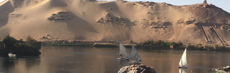 Emma Cottis - Felucca Sailing on the Nile, Egypt